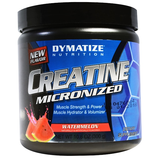 Dymatize Nutrition, Creatine Micronized, Watermelon, 10.6 oz (300 g) (Discontinued Item)