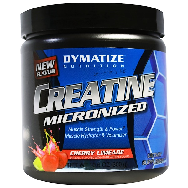 Dymatize Nutrition, Creatine Micronized, Cherry Limeade, 10.6 oz (300 g) (Discontinued Item)