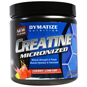Диматайз Нутришн, Creatine Micronized, Cherry Limeade, 10.6 oz (300 g) отзывы