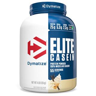 Dymatize Nutrition, Elite Casein, со вкусом ванили, 1,8 кг (4 фунта)