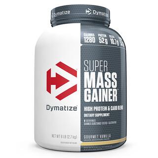 Dymatize Nutrition, Super Mass Gainer, ванильный вкус, 2,7 кг (6 фунтов)