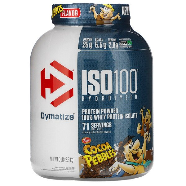 ISO100 Hydrolyzed, 100% Whey Protein Isolate, Cocoa Pebbles, 5 lb (2.3 kg)