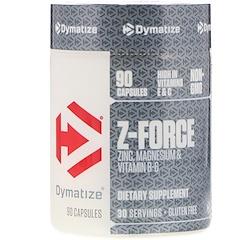 Dymatize Nutrition, Z-Force, 90 Capsules