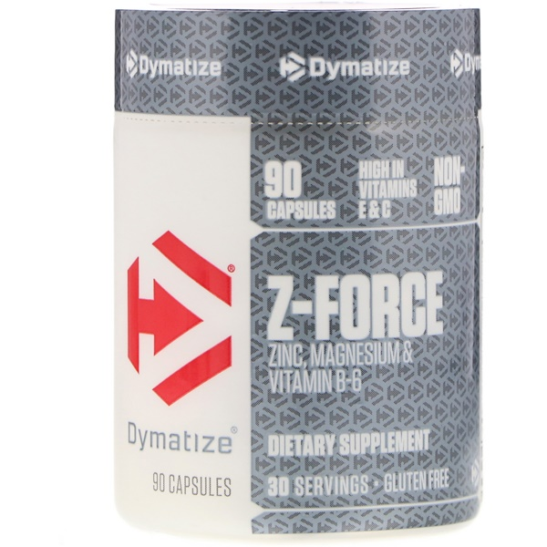 Dymatize Nutrition, Z-Force, 90 Cápsulas (Discontinued Item)