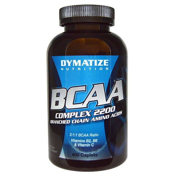 Dymatize Nutrition, BCAA Complex 2200, Branched Chain Amino Acids, 400 Caplets