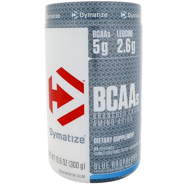 Dymatize Nutrition, BCAA 支鏈氨基酸,10、6盎司(300克)