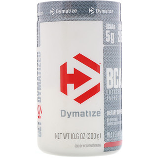Dymatize Nutrition, BCAA分岐鎖アミノ酸、10.6オンス (300 g)