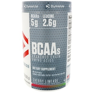 Dymatize Nutrition, BCAA, Branched Chain Amino Acids, Cherry Limeade, 10.6 oz (300 g)