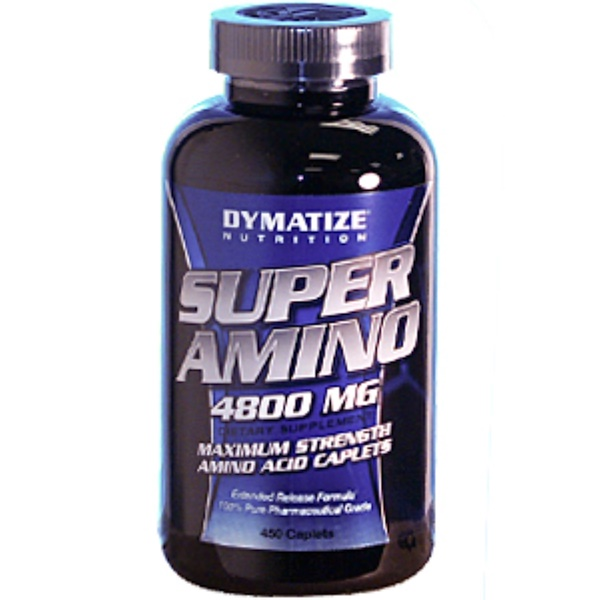 Dymatize Nutrition, Super Amino, 4800 мг, 450 капсул (Discontinued Item)