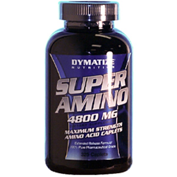 Dymatize Nutrition, Super Amino, 4800 mg, 325 Caplets (Discontinued Item)