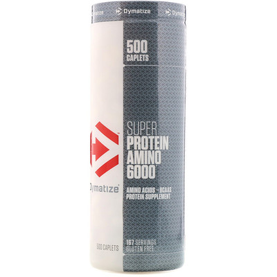 Фото - Super Protein Amino 6000, 500 капсуловидных таблеток pre workout explosion предтренировочный комплекс 120капсуловидных таблеток