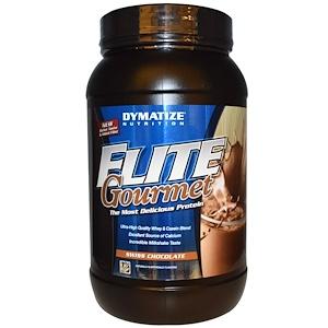 Диматайз Нутришн, Elite Gourmet Protein, Swiss Chocolate, 2 lbs (907 g) отзывы покупателей