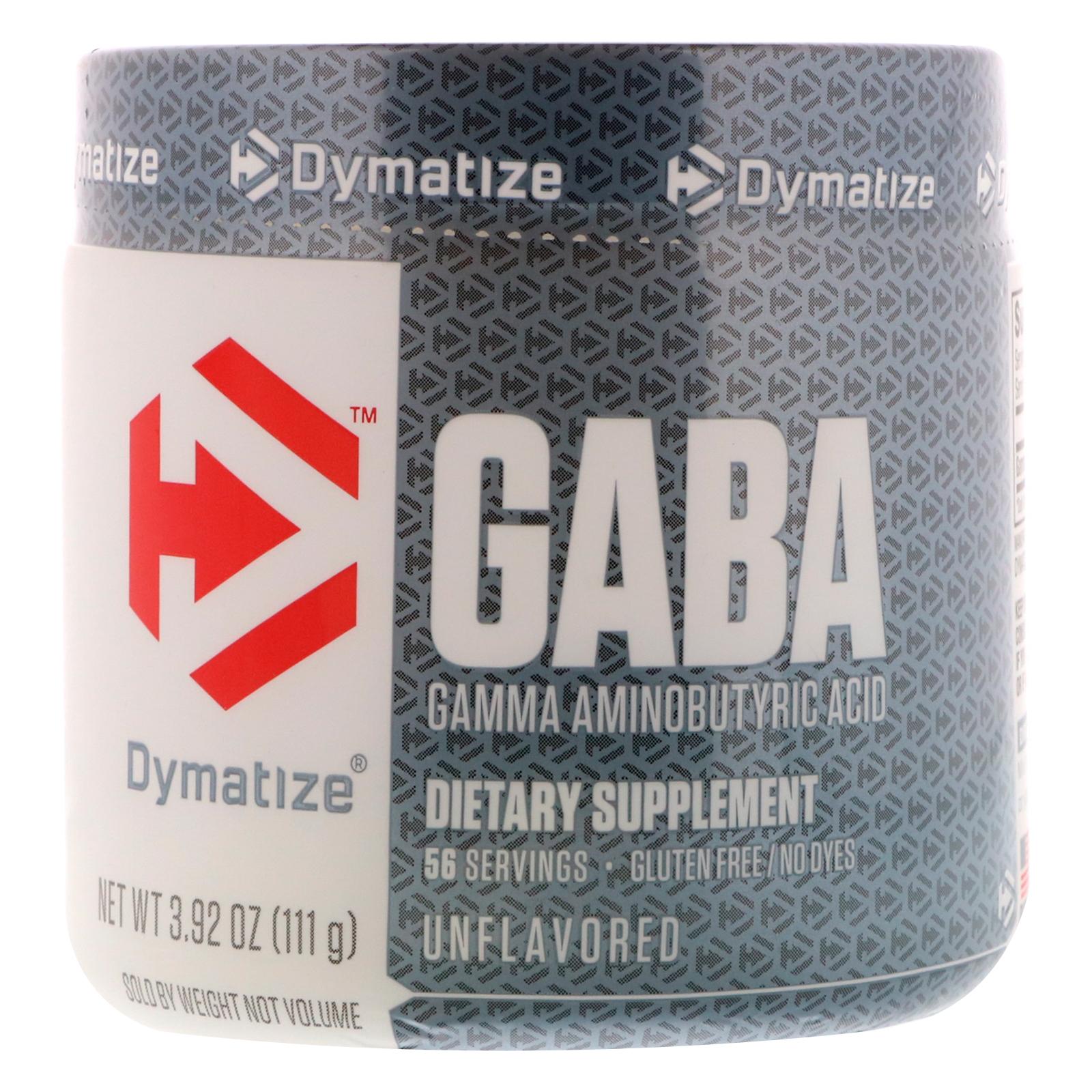 Dymatize Nutrition, GABA, Gamma