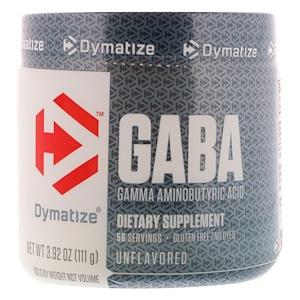 Диматайз Нутришн, GABA, Gamma Aminobutyric Acid, Unflavored, 3.92 oz (111 g) отзывы покупателей