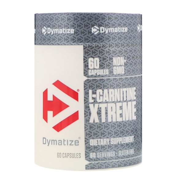Dymatize Nutrition, ダイマタイズ, L-Carnitine Xtreme, 60 Capsules