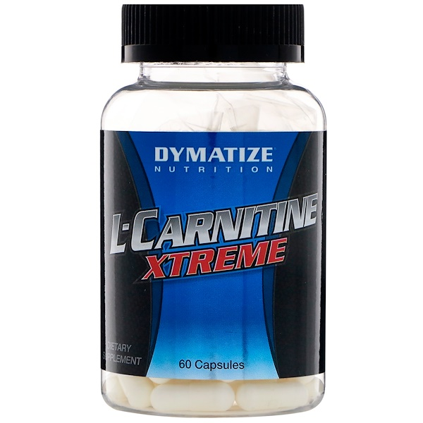 Dymatize Nutrition, L-карнитин Xtreme, 60 капсул