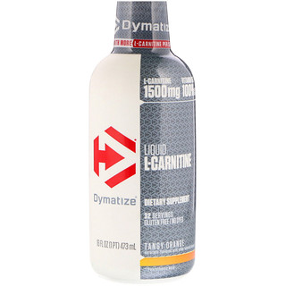 Dymatize Nutrition, 液体L-カルニチン、タンジーオレンジ、1500mg、16 fl oz (473 ml)