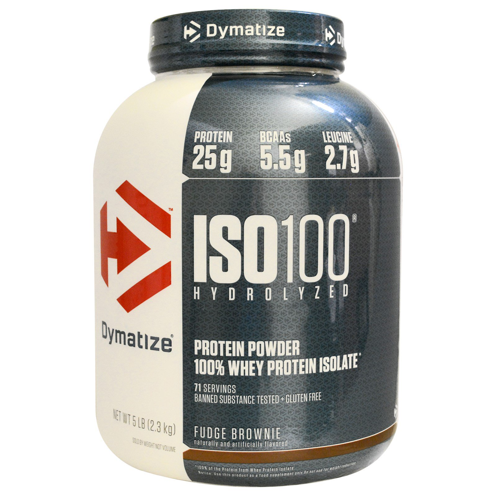 Dymatize Nutrition Iso 100 Hydrolyzed 100 Whey Protein Isolate