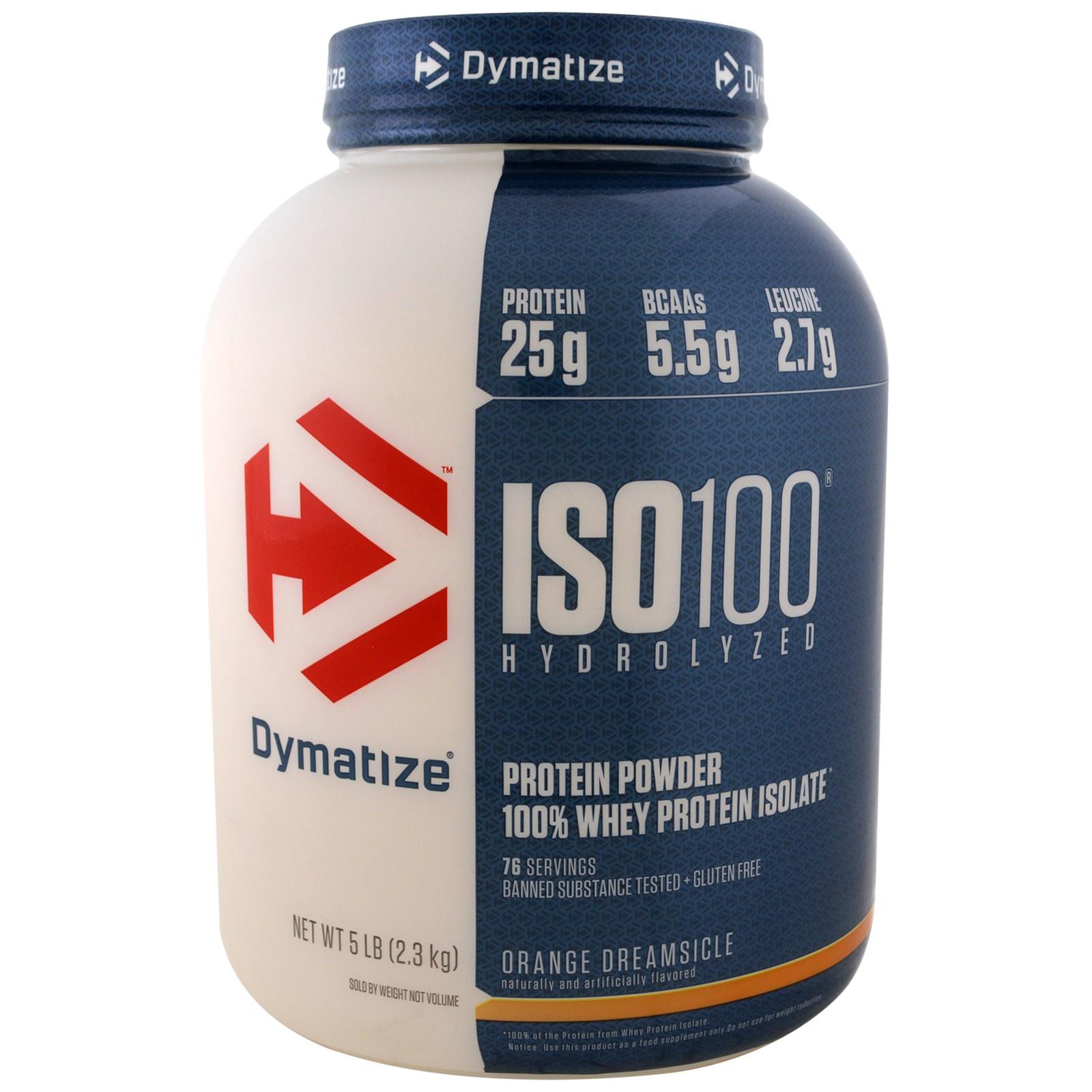 Dymatize Nutrition, ISO 100 Hydrolyzed, 100% Whey Protein