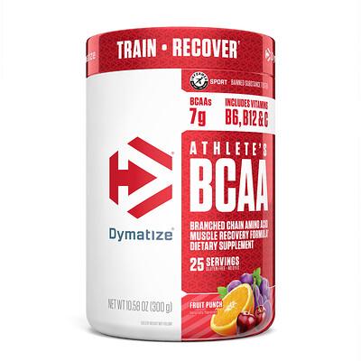 Купить Dymatize Nutrition Athlete's BCAA, добавка для физической активности, фруктовый пунш, 300г