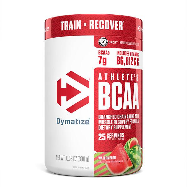 Athlete's BCAA, Watermelon, 10.58 oz (300 g)
