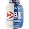 Dymatize Nutrition, エリート100%ホエイプロテイン、リッチチョコレート、5 lbs (2,270 g)