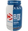 Dymatize Nutrition, Elite 100% Whey Protein Powder, Chocolate Fudge, 2 lbs (907 g)