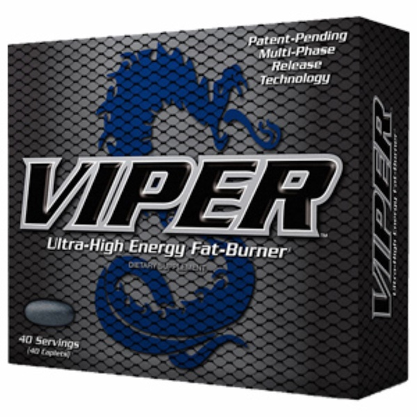 Dymatize Nutrition, Viper, Ultra High-Energy Fat-Burner, 40 Caplets (Discontinued Item)
