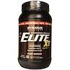 Dymatize Nutrition, エリートXT、エクステンディドリリースマルチプロテインマトリックス、 ファッジブラウニー、 2ポンド (892 g) (Discontinued Item)