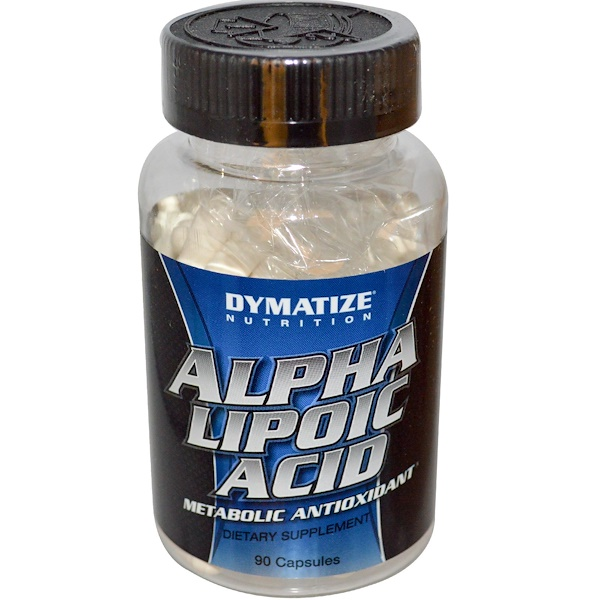 Dymatize Nutrition, Alpha Lipoic Acid, 200 mg, 90 Capsules  (Discontinued Item)
