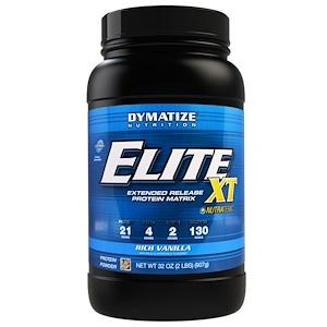 Диматайз Нутришн, Elite XT, Extended Release Multi-Protein Matrix, Rich Vanilla, 2 lbs (892 g) отзывы покупателей