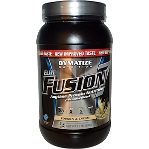 Диматайз Нутришн, Elite Fusion 7, Anytime Protection Nutrition, Cookies & Cream, 2 lbs (908 g) отзывы