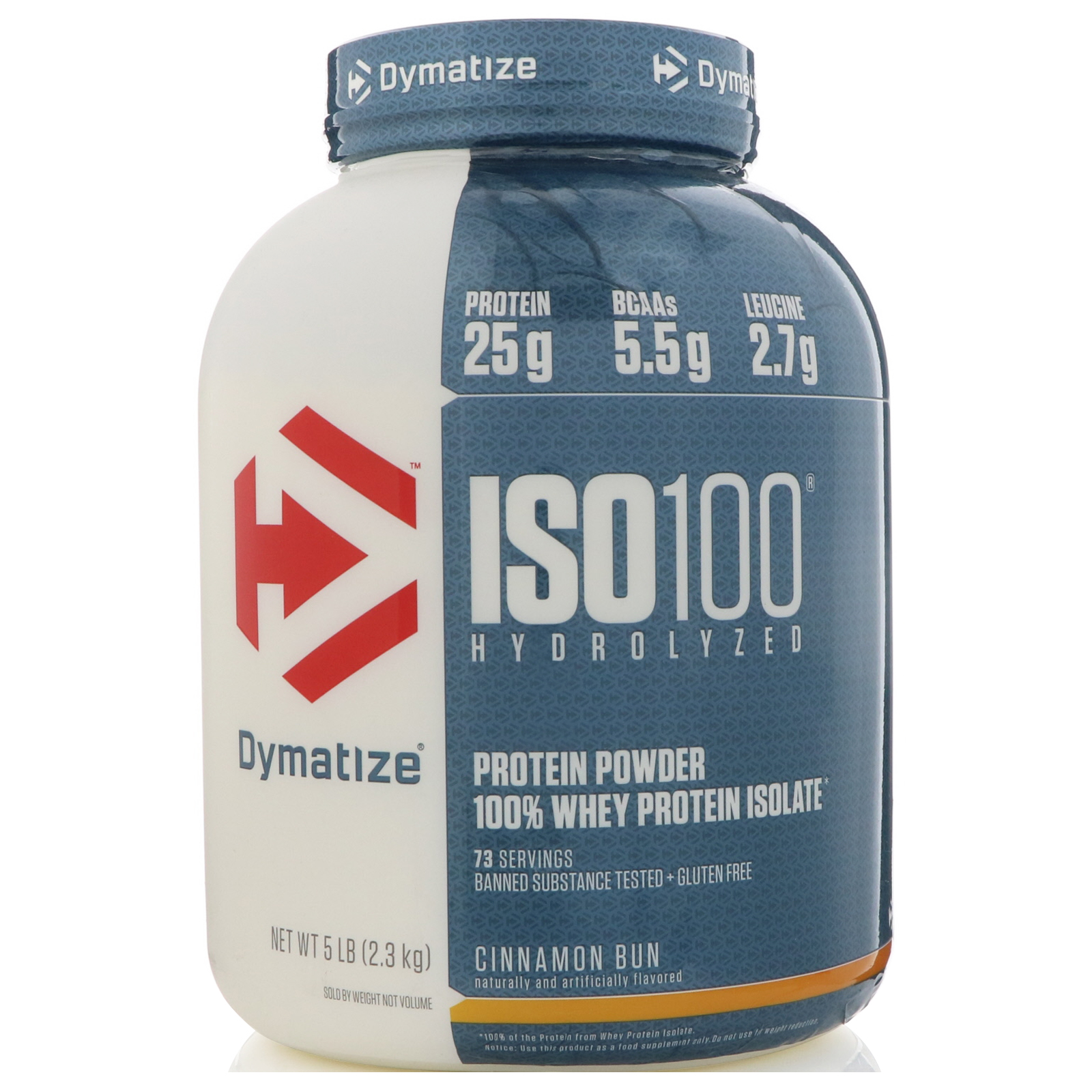 Dymatize Nutrition Iso100 Hydrolyzed 100 Whey Protein Isolate