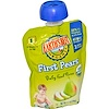 Earth's Best, Organic, Baby Food Puree, First Pears, 3.1 oz (90 g) (Discontinued Item)