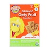 Earth's Best, Sesame Street, Organic Oaty Fruit, Snack Bars, Mango Carrot, 5 Bars, 0.88 oz (25 g) Each