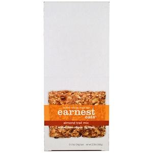 Ёрнест Итс, Baked Whole Food Bar, Almond Trail Mix, 12 Bars, 1.9 oz (54 g) Each отзывы