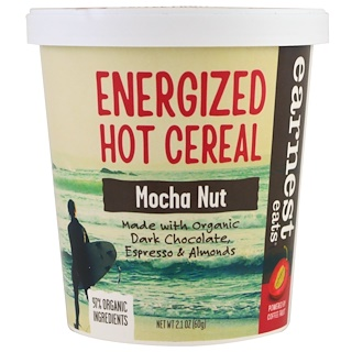 Earnest Eats, Energized Hot Cereal, Mocha Nut, 2.1 oz (60 g)