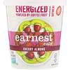 Earnest Eats, Заряжающая энергией каша, вишня-миндаль, 2.1 унции (60 г)