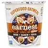 Earnest Eats, SuperFood Oatmeal Cup, Cocoa + Cashew + Pepita, Mayan Blend, 2.35 oz (67 g)