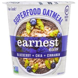 Ёрнест Итс, SuperFood Oatmeal Cup, Blueberry + Chia + Cinnamon, Superfood Blueberry Chia, 2.35 oz (67 g) отзывы покупателей