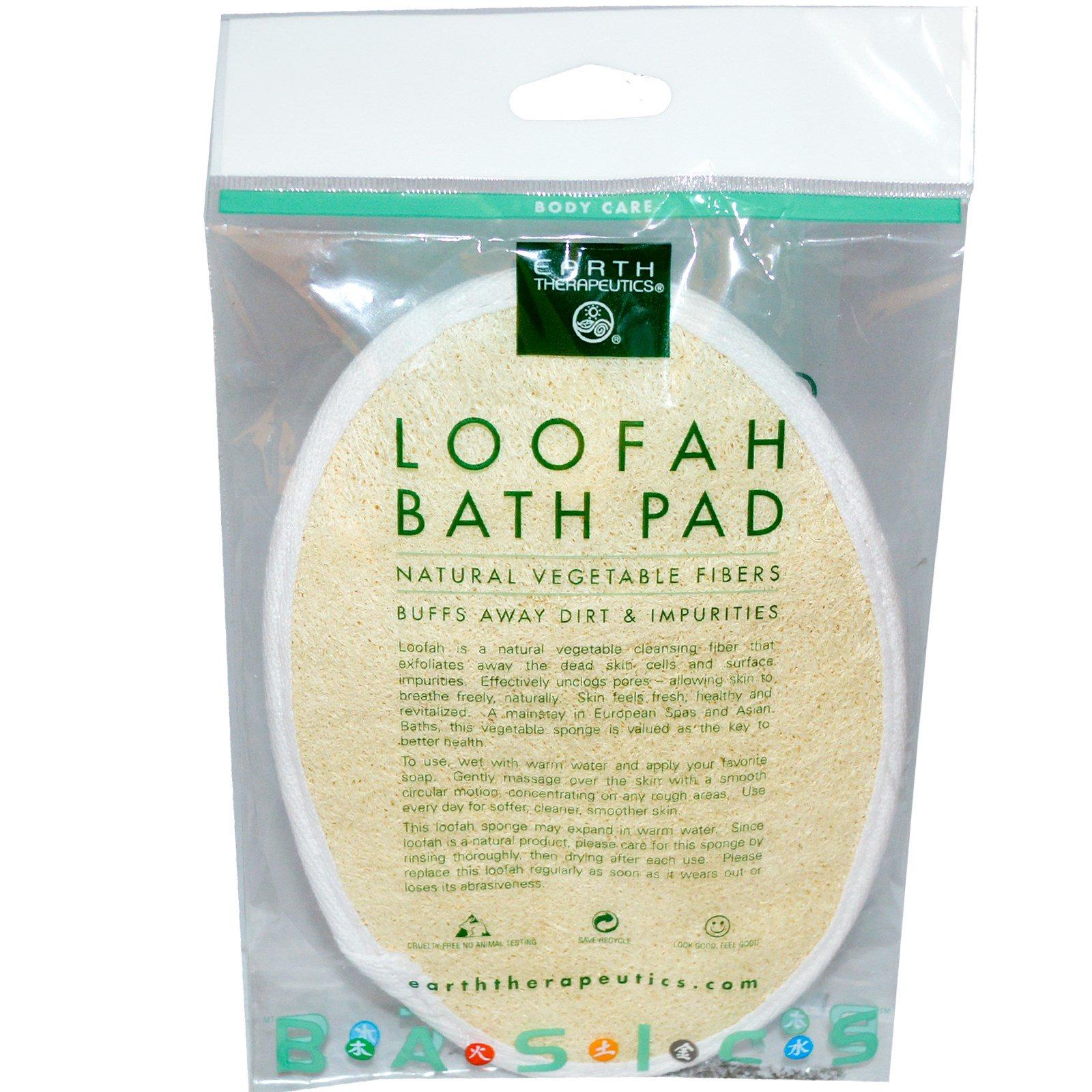 Earth Therapeutics, Мочалка-коврик для ванной, 1 коврик