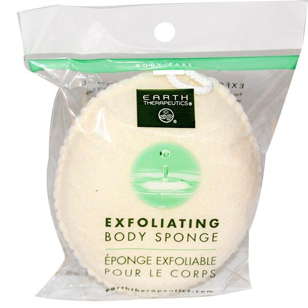 Earth Therapeutics, Exfoliating Body Sponge, 1 Sponge