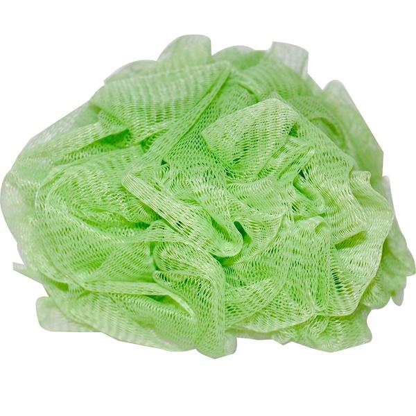 Earth Therapeutics, Hydro Body Sponge, Green, 1 Sponge (Discontinued Item)