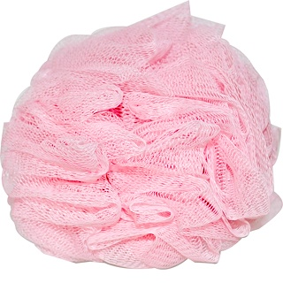 Earth Therapeutics, Hydro Body Sponge, Pink, 1 Sponge