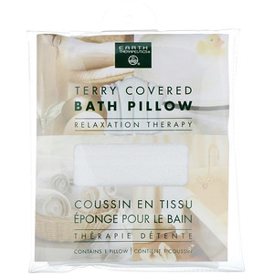 Ёрт Терапьютикалс, Terry Covered Bath Pillow, Relaxation Therapy, 1 Pillow отзывы покупателей