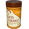 Earth Balance, Natural Peanut Butter and Flaxseed, Creamy, 16 oz (453 g)