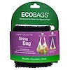 ECOBAGS, Market Collection, String Bag, Tote Handle 10 in, Black, 1 Bag
