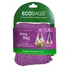 ECOBAGS, Market Collection, String Bag, Long Handle 22 in, Raspberry, 1 Bag