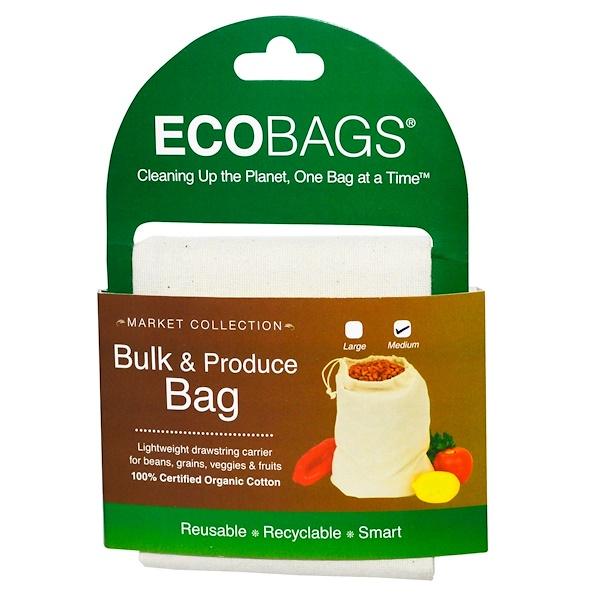 ECOBAGS, Bulk & Produce Bag, Medium, 1 Bag (Discontinued Item)