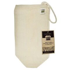 ECOBAGS, أكياس الغداء من القماش القطن المعاد تدويره، 1 حقيبة، 7 بوصة عرض 10.5x بوصة طول